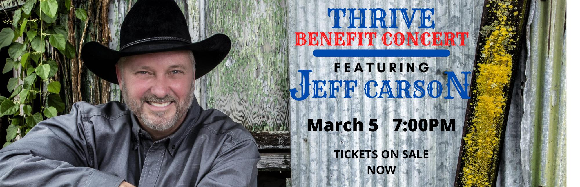 Benefit Concert - Jeff Carson